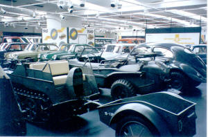 Kettenkrad and trailer at the AutoMuseum Wolfsburg