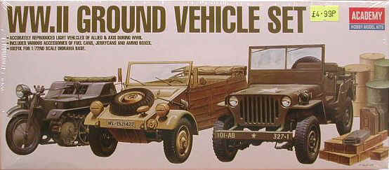 Academy WW2 Ground Vehicle Set