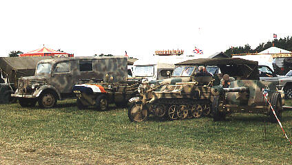 German vehicles at Beltring