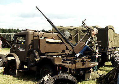 FORD F15 with Polsten AA gun