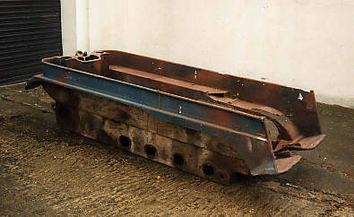 Kettenkrad hull left side