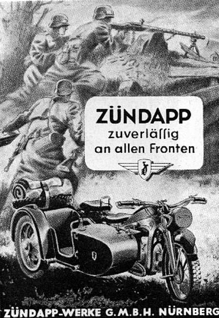 ZUENDAPP advert 1942
